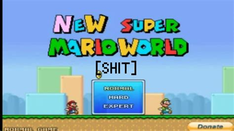 super mario fan games worst mario fan game new super mario world youtube