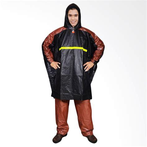 Jas Hujan Ponco By Nowidashop jual rainwear poncho gets hitam set jas hujan