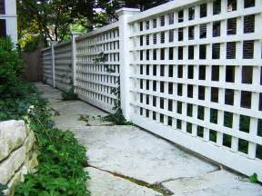 Design For Lattice Fence Ideas Lattice Fence Design Completes A Garden Decoration In Your Home With Artistic Look