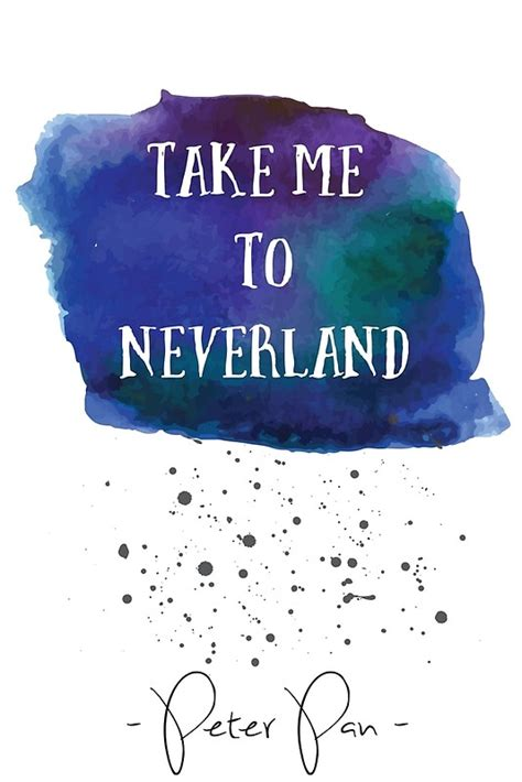 Take Me To Neverland quot pan take me to neverland quot canvas prints by