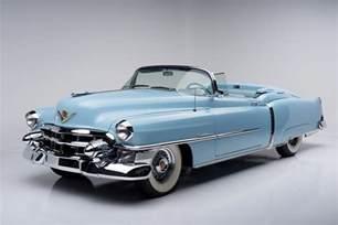 Blue Shine Your Cadillac 1953 Cadillac Eldorado Convertible 188679