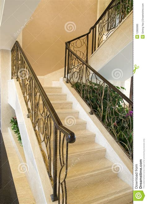 Kerala Home Design Free Download stairs in the modern house stock photo image 12869980