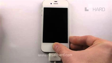 resetting gmail on iphone how to hard reset apple iphone ios7 youtube