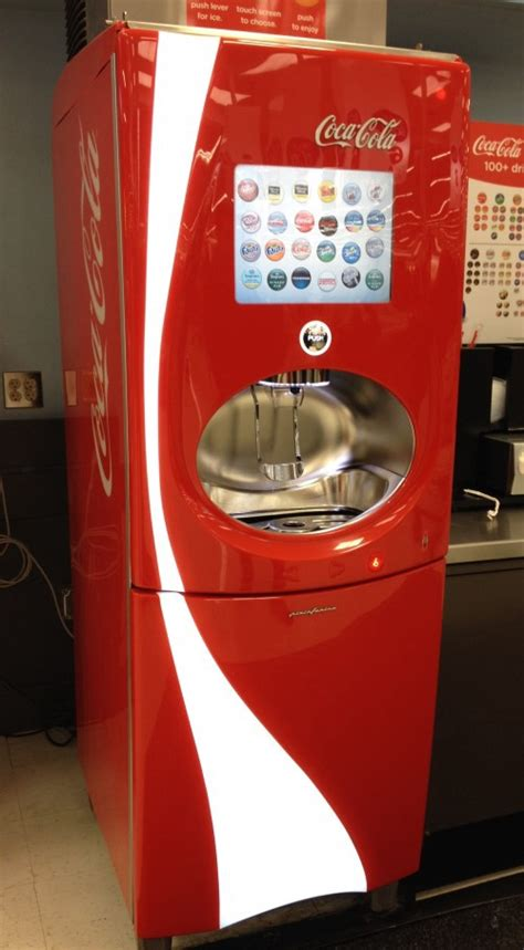 benchmarking the coca cola freestyle visualhero design