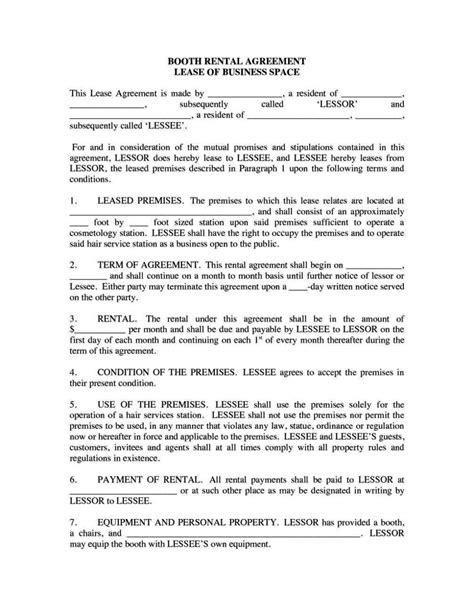 hair stylist contract template sampletemplatess
