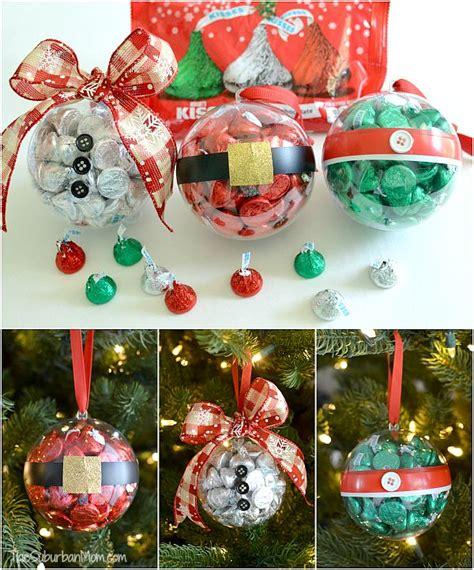 diy christmas ornaments  hersheys kisses  time