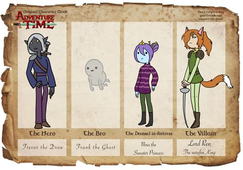 Adventure Time Original Character Meme - adventure time oc meme yep by the clockwork crow on