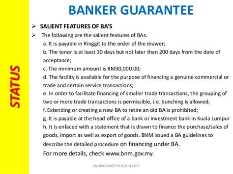 May Bank Letter Of Credit Chapter 3 Commercial Bank