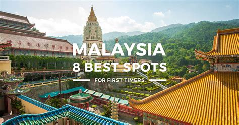 places  visit  malaysia   timers