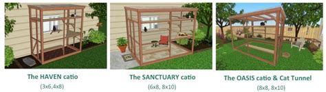 free diy catio plans catios for cyber monday feline navidad catio spaces prlog