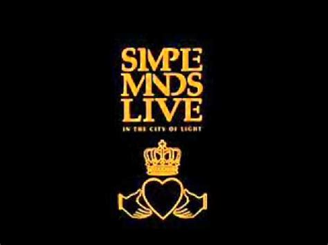 Simple Minds Live In The City Of Light by Simple Minds Promised You A Miracle Live In The City Of