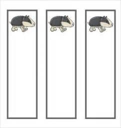 blank bookmark template blank bookmark template for word calendar template 2016