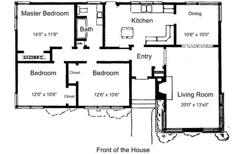 small house plans with 3 bedrooms free floor plans for small houses small house plans