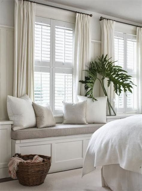 Curtains On Windows With Blinds Inspiration Martes Deco White Bedrooms Paperblog