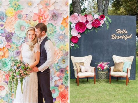 Wedding Background Wall by 31 Best Wedding Wall Decoration Ideas Everafterguide