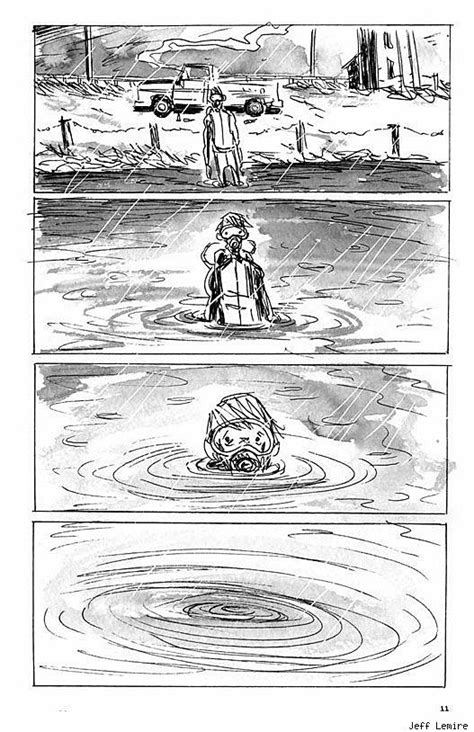 First Look at Jeff Lemire's New Graphic Novel 'The
