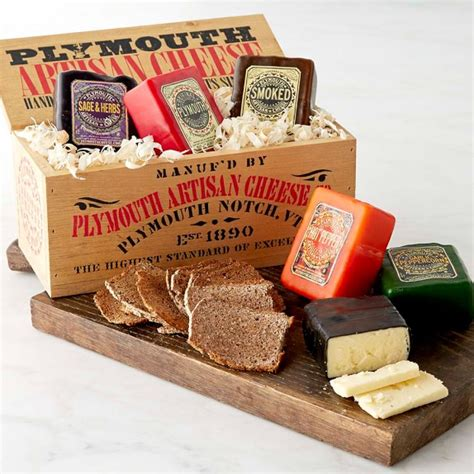 kitchen factory plymouth plymouth artisan cheese gift crate williams sonoma