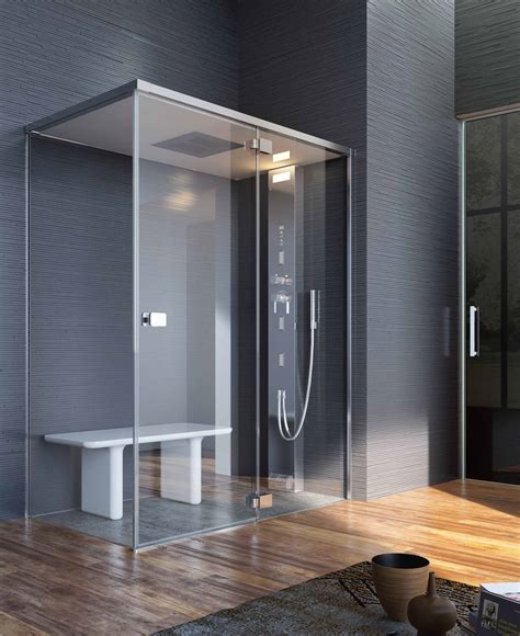 turn your shower into a steam room wetroom steamrooms bathrooms