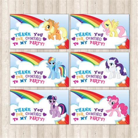 Label Name Buku Pony my pony favor tags instant my by printmeparties my pony