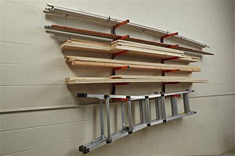 Wall Mounted Lumber Storage Rack by Lumber Storage Rack Portamate Pbr 001 Six Level Wall