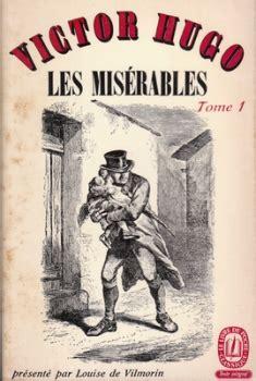 les miserables 1 folio les mis 233 rables 3 tomes tome 1 livraddict