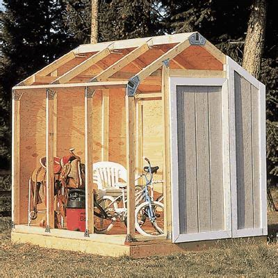 How To Build An 8x8 Shed by Fast Framer Universal Storage Shed Framing Kit Barn Style