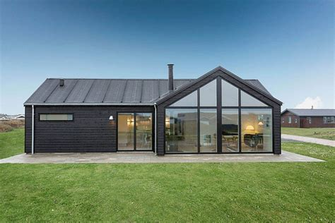 Shed Roof House Designs by Exquisite Summer House With Danish Design By Skanlux