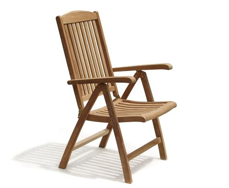 garden reclining chairs cheltenham teak garden reclining chair