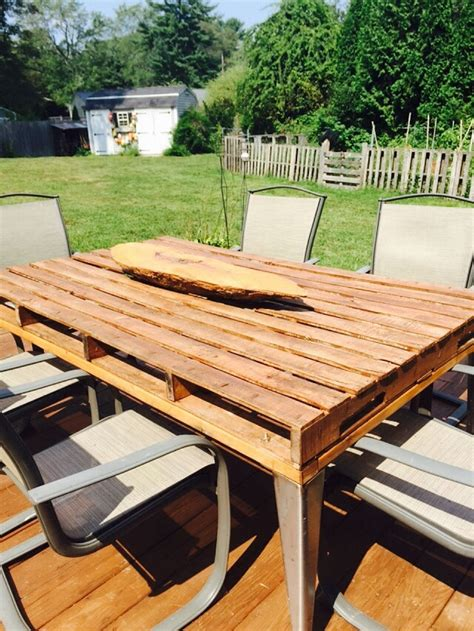 Patio Coffee Table Out Of Wooden Pallets Pallet Ideas Patio Furniture Out Of Wood Pallets