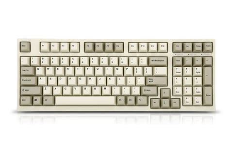 Mechanical Keyboard Leopold Fc980m Navy Pbt Keycaps Cherry Mx Fj leopold fc980m two tone white pbt mechanical keyboard black cherry mx