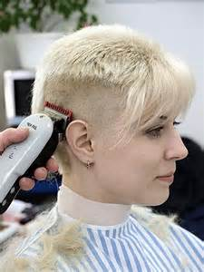 pixie haircut with a clipper the pixie revolution getting clippered