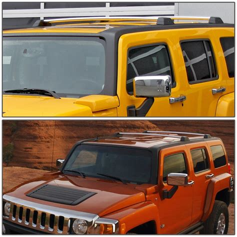 H3 Hummer Roof Rack by 06 10 Hummer H3 H3t Pair Of Aluminum Oe Style Roof Rack