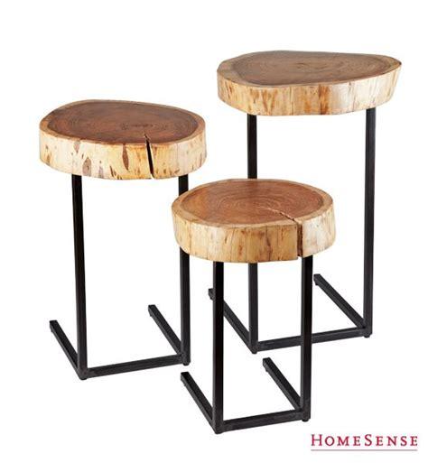 Tree Stump Bar Stools by Rustic Tree Stump Bar Stools Kitchen Wood Www Homesense