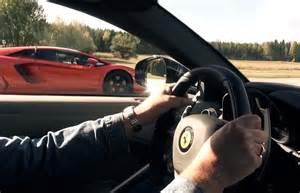 Lamborghini Aventador Vs Lamborghini Aventador Vs F12 Racing An
