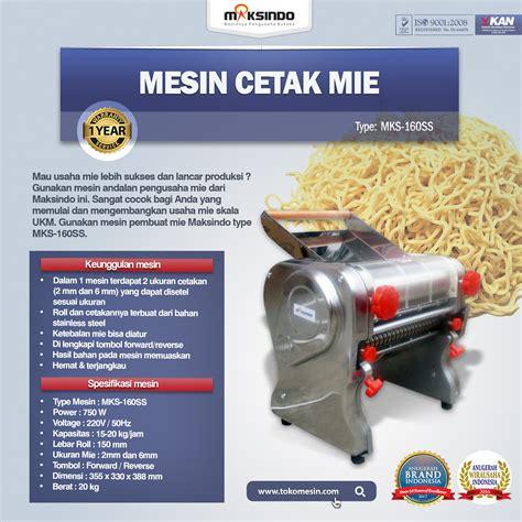 Jual Alat Cukur Di Malang jual mesin cetak mie mks 160ss di malang toko mesin maksindo di malang toko mesin maksindo