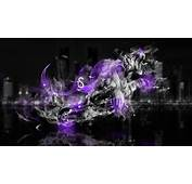 Fantasy Moto Tiger Power Violet Fire 2014 HD Wallpapers Design By Tony