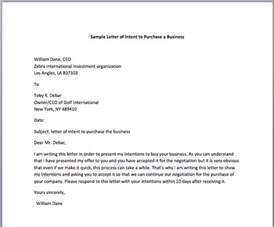 Business Letter Sample Purchase Order sample letter of intent to purchase a business smart letters