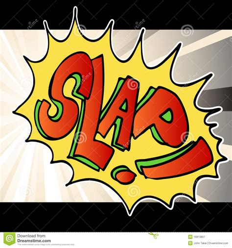 Slap Clop by Slap Noise Background Stock Vector Image Of Background