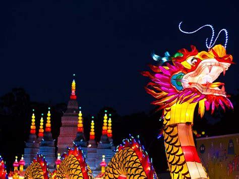 new year lantern festival melbourne dandenong light festival