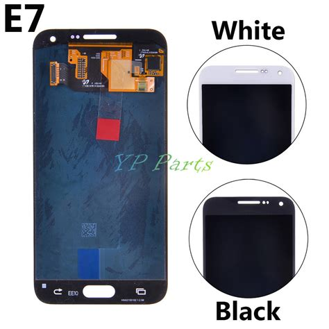 Lcd E7 e7 original lcd display screen touch digitize assembly for samsung galaxy e7 e7000 sm e700f