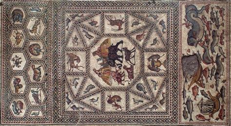 how lod the lod mosaic at waddesdon manor a review archaeology