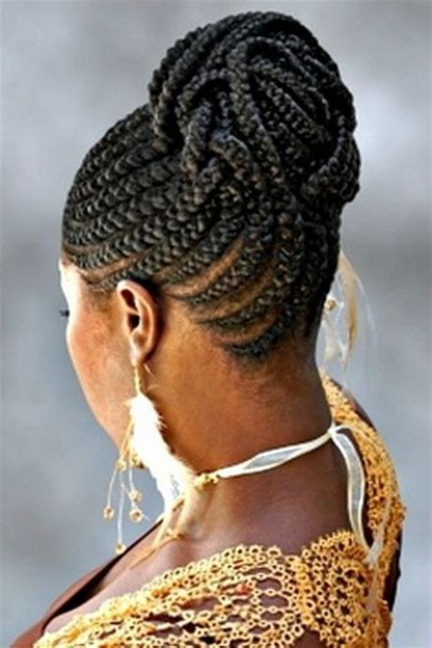 itching african bun hairstyles cornrow hairstyles for black women african cornrow
