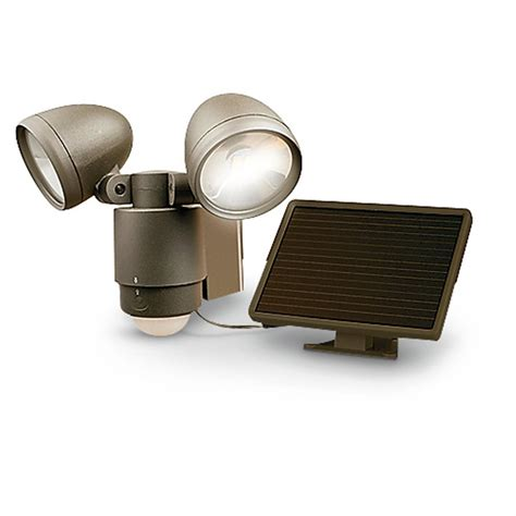Motion Activated L by Motion Activated Dual Solar Spotlight 282552 Home