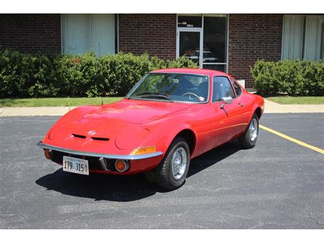 1971 Opel Gt For Sale by 1971 Opel Gt For Sale Classiccars Cc 986338