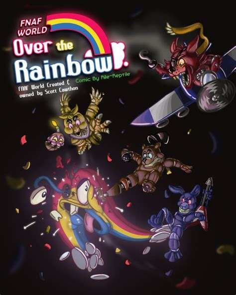 House Simulator fnaf world comic over the rainbow by rile reptile on