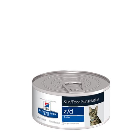 z d food prescription diet feline zd skin food sensitivities canned pet circle