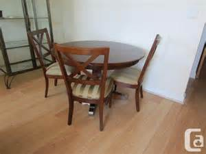 Ethan Allen Dining Room Table And Chairs Ethan Allen Diningroom Table And Chairs Bathurst And King For Sale In Toronto Ontario