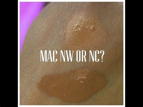 Foundation Mac Nc mac foundations nc50 vs nw45 doovi