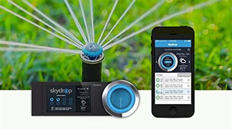 automatic watering skydrop 8 zone wifi sprinkler
