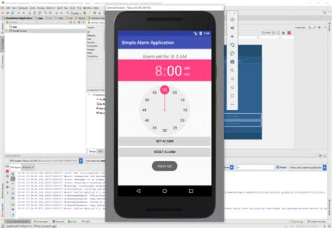 android studio alarm tutorial android simple alarm application free source code